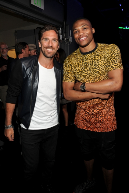 Henrik Lundqvist and Russell Westbrook