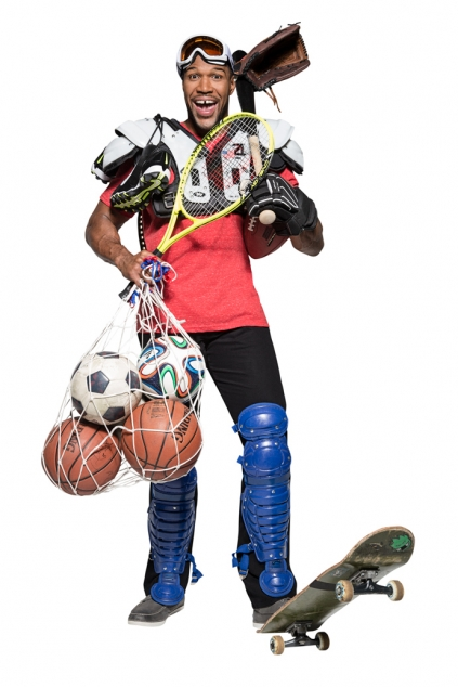 Michael Strahan sports equipment