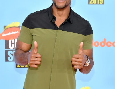 Host Michael Strahan attends Nickelodeon Kids' Choice Sports 2019