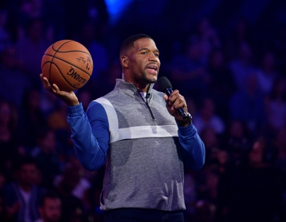 Michael Strahan onstage during Nickelodeon Kids' Choice Sports 2019