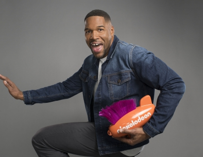 Host of the 2019 Kids Choice Sports Awards' Michael Strahan